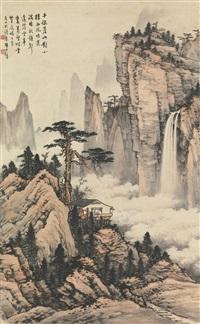autumn landscape by huang junbi