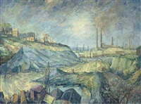 industry, gravesend, kent (+ 3 others; 4 works) by frederick stonham