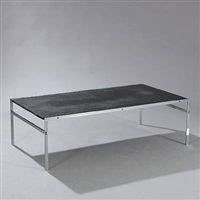 rectangular coffee table (model bo-551) by jorgen kastholm and preben fabricius