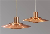 pendants (pair) by jorgen kastholm and preben fabricius