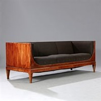 three seater sofa by frits henningsen