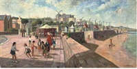 ryde, isle of wight (+ 13 others, 1 watercolor; 14 works) by frederick stonham