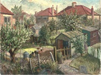 suburbia (+ 11 others; 12 works) by frederick stonham