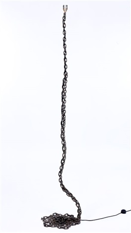 chain lamp by franz west