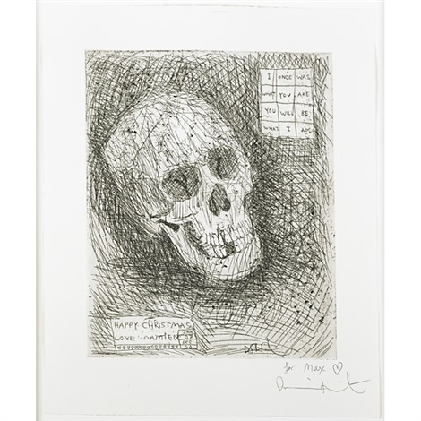 i once was what you are. you will be what i am by damien hirst