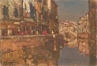 canale a venezia by beppe ciardi