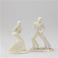dancers (pair) by waylande gregory