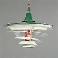 the tivoli lamp by poul henningsen