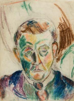 portrait eines mannes by heinrich ehmsen