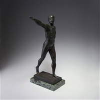 athlet by maurice guiraud-rivière