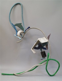 abstract sculptures (4 works) by david annesley