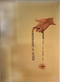 peinture au chapelet by remi van den abeele