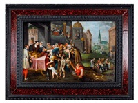 las siete obras de misericordia by frans francken the younger