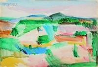 landscape by giorgio cavallon