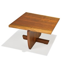 greenrock side table by mira nakashima-yarnall