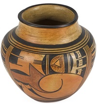 hopi-tewa jar by fannie nampeyo