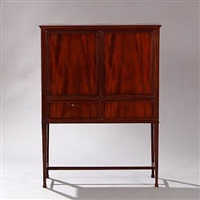tall cabinet by frits henningsen
