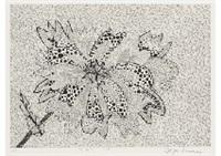 flower (a・b) by yayoi kusama