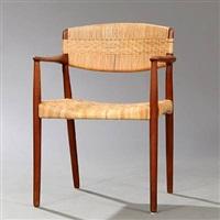 armchair by ejnar larsen and aksel bender madsen