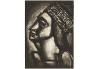 vierge aux sept glaives by georges rouault