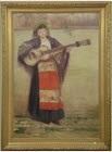 jeune musicienne by médard tytgat