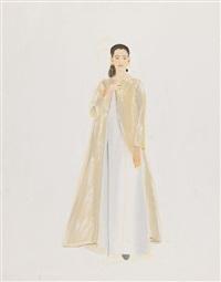 wedding dress by alex katz