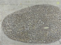 ansicht von arles aus der vogelperspektive by marco richterich