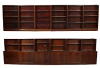 wall unit (in 12 parts) by frits henningsen