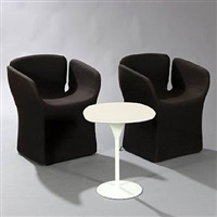 bloomy, 2 chairs and coffee table (set of 3) by patricia urquiola
