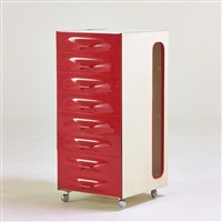 df2000 eight-drawer valet chest by raymond fernand loewy