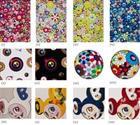 flower dumpling (and 11 other works) by takashi murakami
