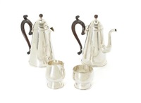 coffee service (set of 4) by michael rafter