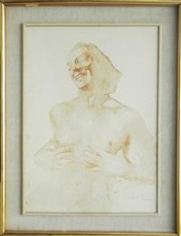 ritratto femminile by aldo raimondi