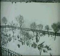 winterlicher garten by alexander olbricht