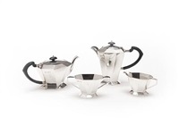 tea and coffee service (set of 4) by a.l. davenport