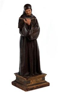 standfigur des heiligen bernhardin by niccolo dell' arco