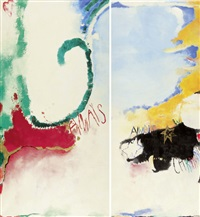 always (diptych) by monica sangberg