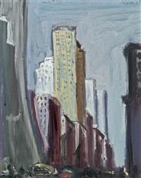 new york by georg eisler