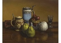 still life on the table by masahiko yamanaka