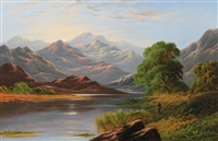 leslie_george the scottish highlands by george dunlop leslie