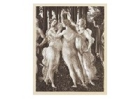 three graces, primavera (+ 3 others; 4 works) by sandro botticelli