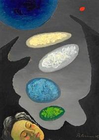 färgernes födelse-under sömnen by vilhelm bjerke-petersen