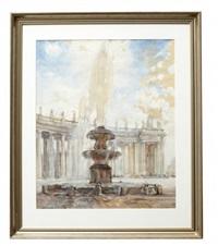 piazza san pietro, rome by ekaterina kachura-falileeva