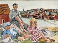 tre barn från fiskebäckskil by birger simonsson