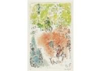 la parade by marc chagall