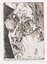 selbstbildnisse (6 works) by horst janssen