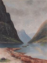 fjordlandskap by sigvald simensen