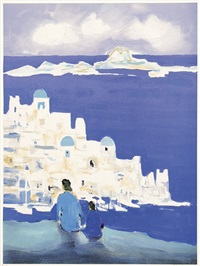 santorin by marcel mouly