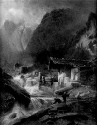 in der ramsau in berchtesgaden by hermann kramer