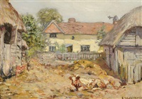 the farmyard by frederick william jackson